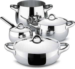 Alessi pannenset Mami 7 delige set - afb. 1