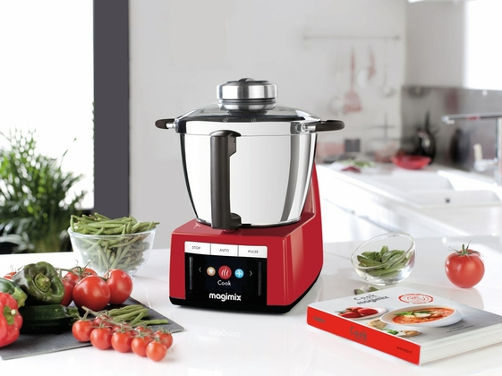 Magimix keukenmachine Cook expert rood + gratis accessoires - afb. 2