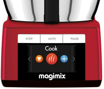 Magimix keukenmachine Cook expert rood + gratis accessoires - afb. 3