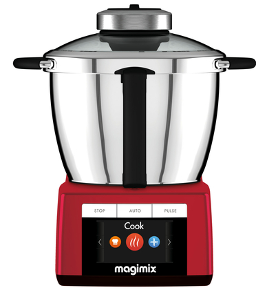 Magimix keukenmachine Cook expert rood + gratis accessoires - afb. 4
