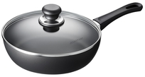 Scanpan Classic Induction sauteerpan met glasdeksel 28 cm